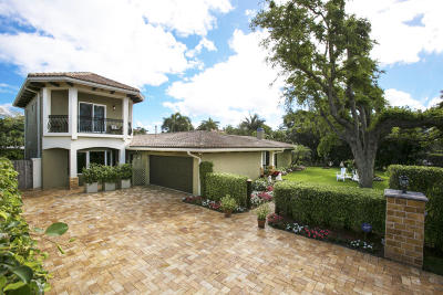 Broward County, Palm Beach County Single Family Home For Sale: 603 Andrews Avenue