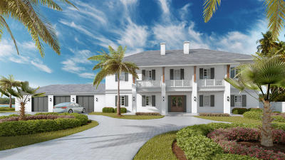 Palm Beach Single Family Home For Sale: 129000 S Shore Drive