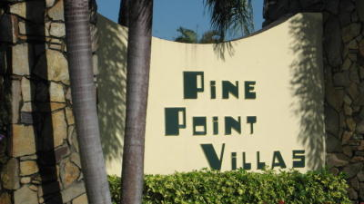 Boynton Beach Single Family Home Contingent: 221 Pine Point Drive #B