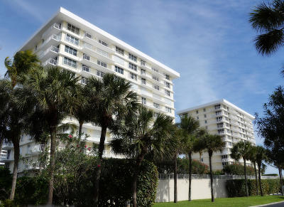 Juno Beach Condo For Sale: 500 Ocean Drive #W-5a
