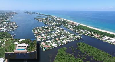 Ocean Ridge Single Family Home For Sale: 1 Inlet Cay Drive