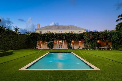 Palm Beach Single Family Home For Sale: 130 Clarendon Avenue