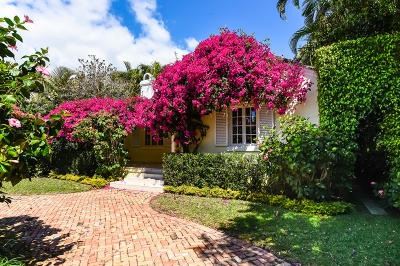 Palm Beach Single Family Home For Sale: 337 Seabreeze Avenue