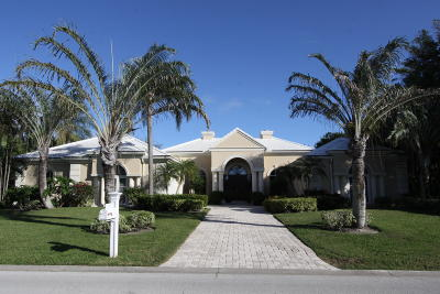 North Palm Beach Single Family Home For Sale: 12048 Lost Tree Way