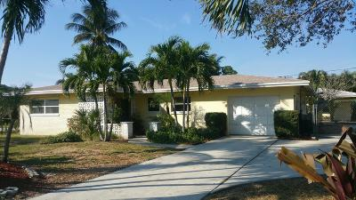 Broward County, Palm Beach County Single Family Home For Sale: 115 NW 18th Street