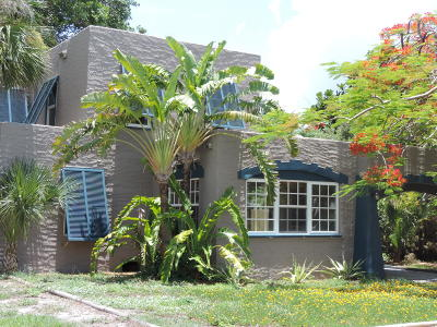 Lake Worth Single Family Home For Sale: 310 Columbia Drive