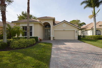 Port Saint Lucie Single Family Home For Sale: 8905 First Tee Road