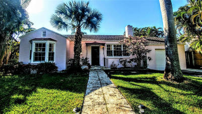 West Palm Beach Single Family Home For Sale: 304 29th Street