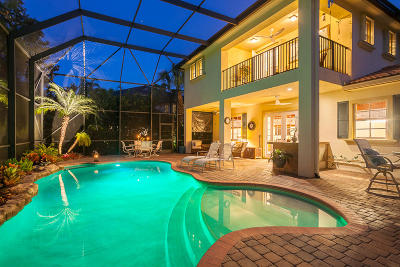 Palm Beach Gardens Single Family Home Contingent: 919 Mill Creek Drive
