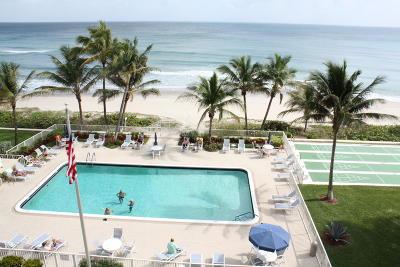 Highland Beach Condo For Sale: 3101 S Ocean Boulevard #512