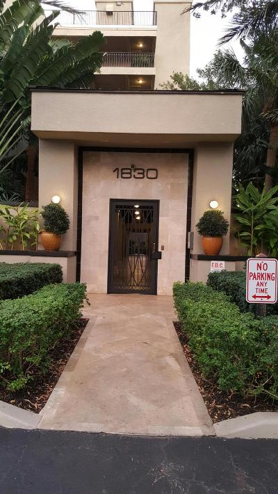 West Palm Beach Rental Leased: 1830 Embassy Drive #506