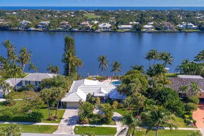 North Palm Beach Single Family Home For Sale: 11844 Lake Shore Place