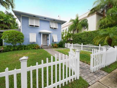 West Palm Beach Single Family Home Contingent: 1711 Georgia Avenue