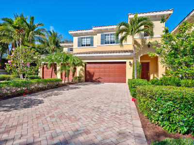 Palm Beach Gardens Townhouse For Sale: 315 Chambord Terrace