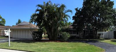 Palm Beach Gardens FL Single Family Home Sold: $380,000