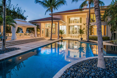 Jupiter Country Club Single Family Home For Sale: 126 Elena Court