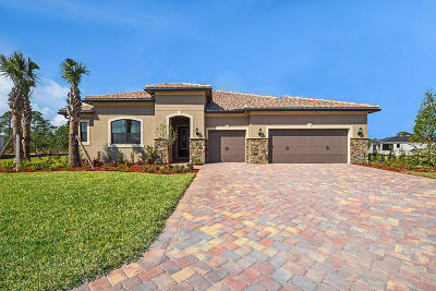 Palm City Single Family Home For Sale: 812 SW Pristine Drive