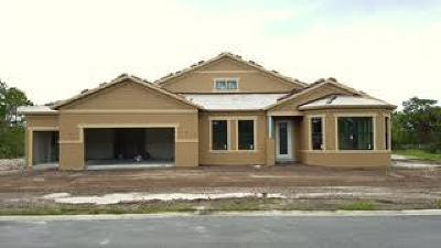 Palm City Single Family Home For Sale: 813 SW Pristine Drive