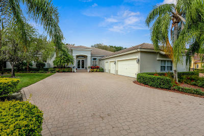 West Palm Beach Single Family Home For Sale: 8009 Fairway Lane