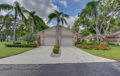 Delray Beach Single Family Home For Sale: 5237 Fairway Woods Drive #3211