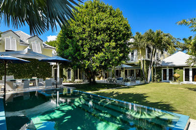 Palm Beach Single Family Home For Sale: 246 Eden Road