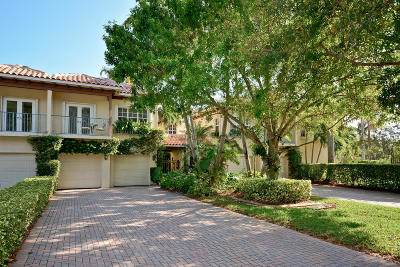 North Palm Beach Townhouse For Sale: 1456 Harbour Point Drive