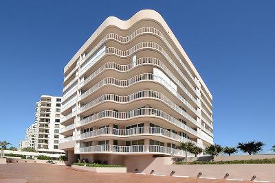 Highland Beach Condo Sold: 3211 S Ocean Boulevard #701