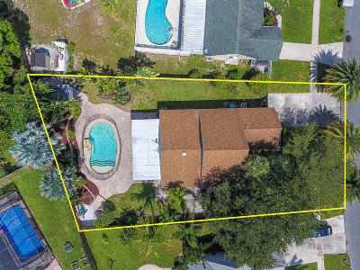Boynton Beach Single Family Home Contingent: 51 Cedar Circle
