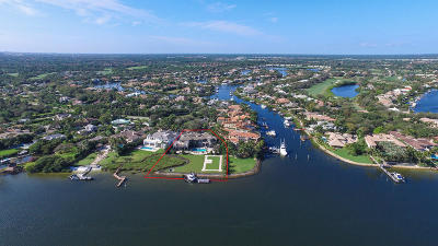 Jupiter FL Single Family Home For Sale: $15,000,000
