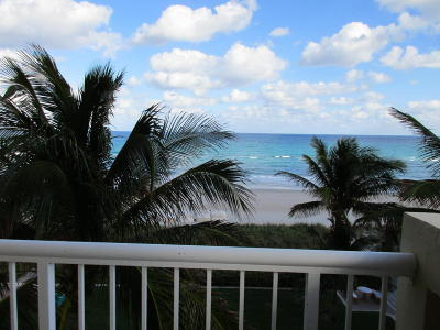 Palm Beach Condo For Sale: 2730 S Ocean Boulevard #407