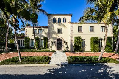 Palm Beach Single Family Home For Sale