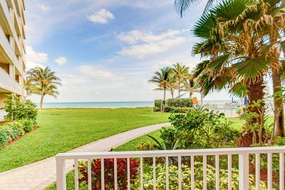 Highland Beach Condo Sold: 3101 S Ocean Boulevard #118