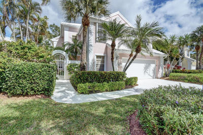 Palm Beach Gardens FL Single Family Home Closed: $405,000