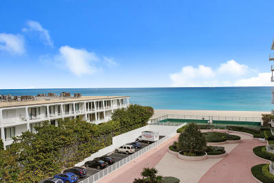 Palm Beach Condo For Sale: 2295 S Ocean Boulevard #619