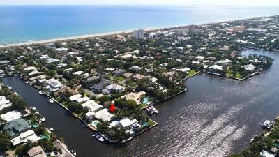 Delray Isle Single Family Home For Sale: 1011 Beach Drive