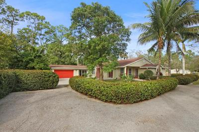 Palm Beach County Single Family Home For Sale: 13899 E Citrus Drive