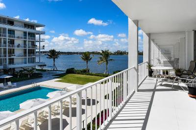 Palm Beach Condo Sold: 2784 S Ocean Boulevard #203 N