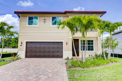 Jupiter Single Family Home For Sale: 7162 Limestone Cay Road