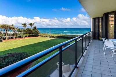 Palm Beach Condo For Sale: 3100 S Ocean Boulevard #205 N