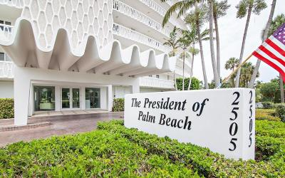 Palm Beach Condo For Sale: 2505 S Ocean Boulevard #511