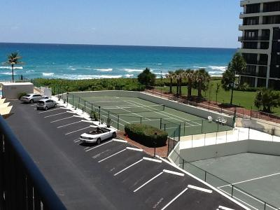 Palm Beach Rental Leased: 3030 S Ocean Boulevard #440