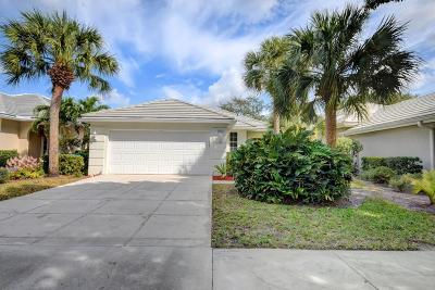 Palm Beach Gardens FL Single Family Home Closed: $295,000