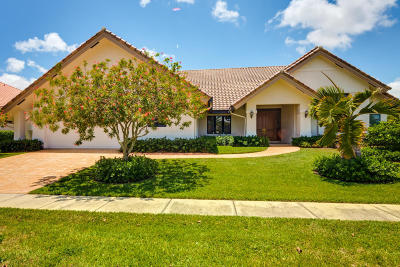 Boca Raton Single Family Home For Sale: 7154 Montrico Drive