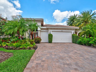 Palm Beach Gardens FL Single Family Home For Sale: $1,095,000