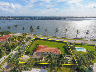 West Palm Beach Single Family Home For Sale: 2501 S Flagler Drive