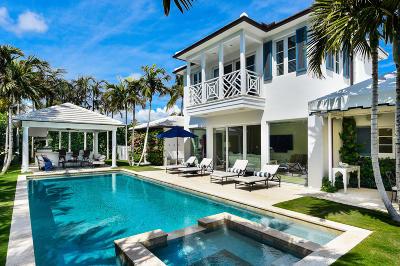 Palm Beach Single Family Home For Sale: 220 Ocean Terrace