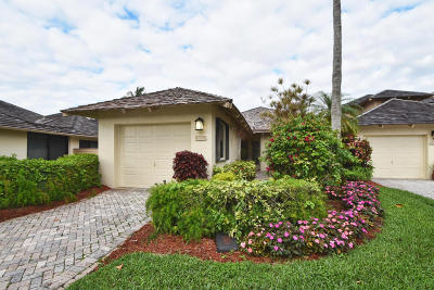 Boca Raton Single Family Home For Sale: 19407 Waters Reach Trail #1001