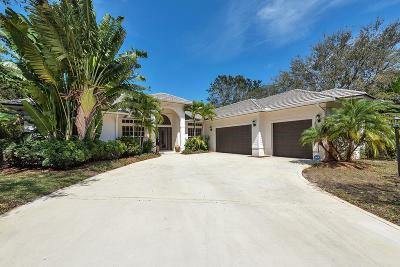 Tequesta Single Family Home For Sale: 18451 SE Lakeside Drive