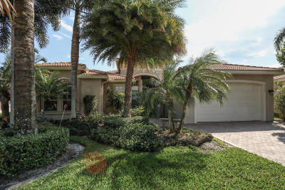 Lake Worth Single Family Home For Sale: 7599 Tarpon Cove Circle
