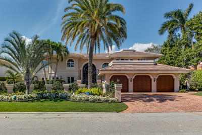 Royal Palm Yacht & Cc, Royal Palm Yacht & Country Club, Royal Palm Yacht And Country Club, Royal Palm Yacht And Country Club Sub In Pb 26 Pgs, Royal Palm Yacht And Country Club Subdivision Single Family Home For Sale: 431 E Coconut Palm Road